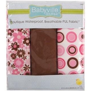 Babyville PUL Waterproof Diaper Fabric 21 in. x 24 in. Cuts