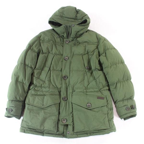 e78790a01 Shop Polo Ralph Lauren NEW Army Green Mens Size XL Parka Full-Zip ...