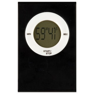 Magnetic Digital Timer Black