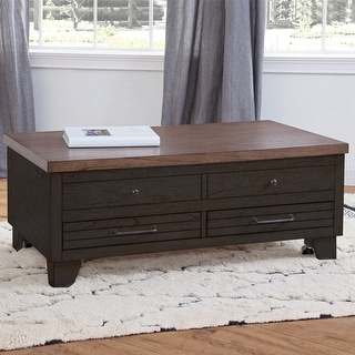 Link to The Gray Barn Billings Creek Lift-Top Coffee Table with Casters Similar Items in Living Room Furniture