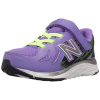 Kids New Balance Girls kv790pmp Low Top Lace Up Walking Shoes