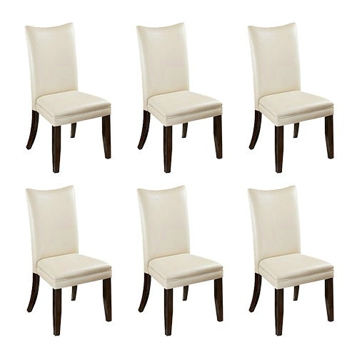 Charrell Dining UPH Side Chair 2/CN Ivory (6-Pack) Charrell Dining UPH Side Chair (2/CN) Ivory