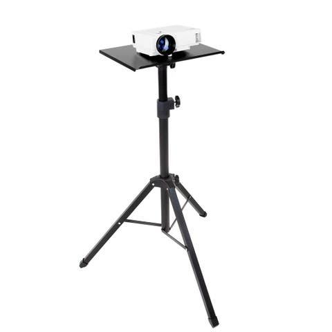 Mount-It! Tripod Projector Stand with Steel Tripod Base
