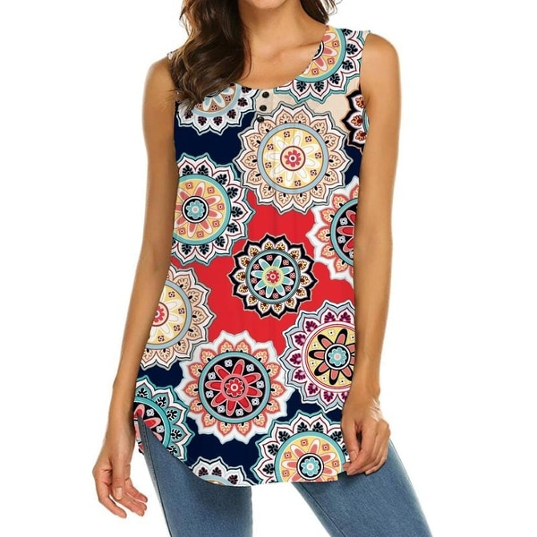 Haute Edition Women's Causal flare Tunic tops. Plus size available. Opens flyout.
