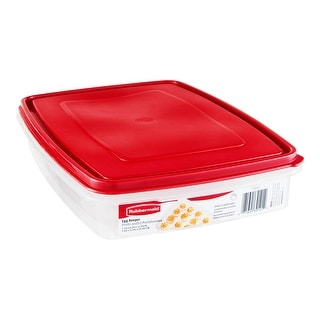 Rubbermaid 1832488 Specialty Food Storage Containers, Egg Keeper