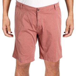 Weatherproof Mens Casual Shorts Pattern Flat Front