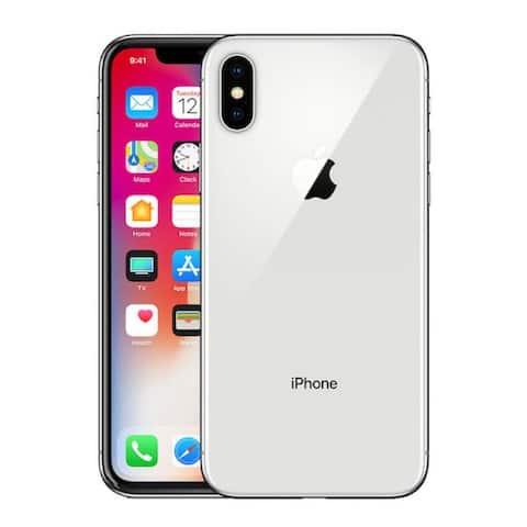 Apple iPhone X 64gb Silver Unlocked Refurbished