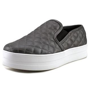 Madden Girl Plaaya Women Synthetic Silver Fashion Sneakers