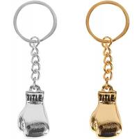 Title Boxing Heavy-Duty Metal Fashion Boxing Glove Keychain - One size