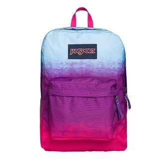 JanSport SUPERBREAK Backpack, PurpleHombr - purple hombr