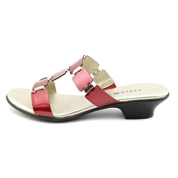 Karen Scott Women's Ennya Slide-on Heeled Sandals