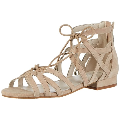 2c233ca03603 Kenneth Cole New York Womens Valerie Leather Open Toe Casual Strappy Sandals