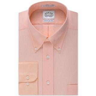 Eagle Mens Button-Down Shirt Pindot Regular Fit