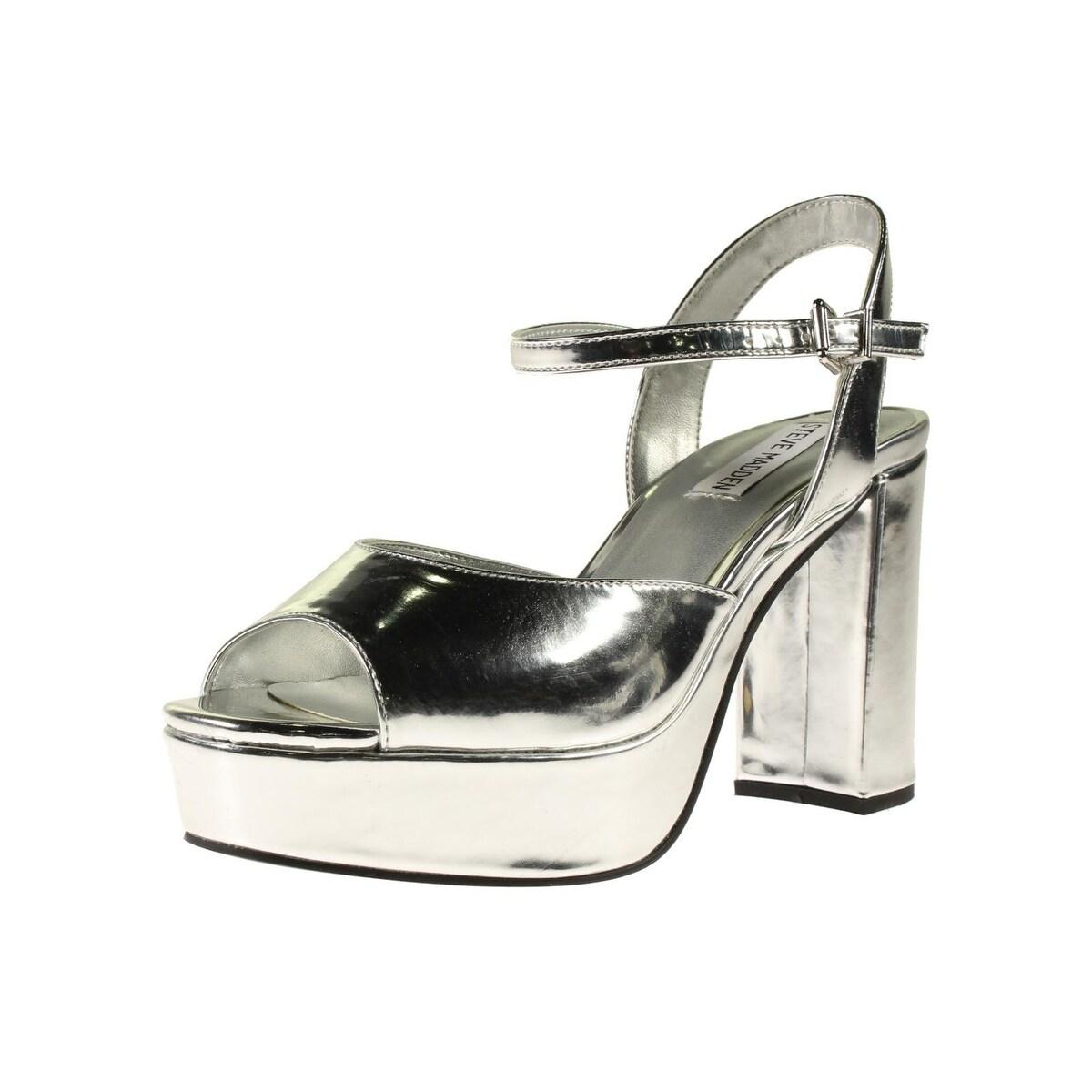 698f81e1c3a Steve Madden Womens Trysta Platform Sandals Block Heel