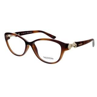 Valentino V2672 214 Havana Oval Valentino Eyewear