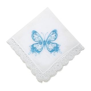 Flirty Butterfly Handkerchief