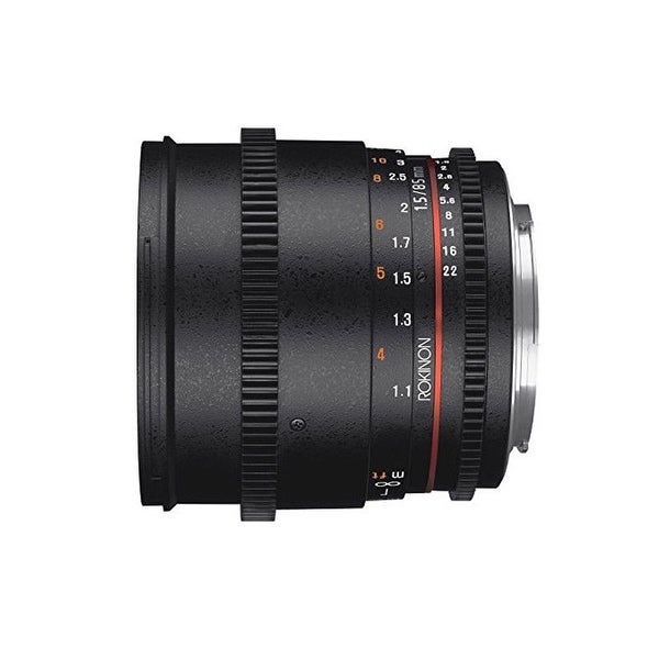 Rokinon 85mm T1.5 Full Frame Cine DS Lens for M4/3 Cameras - Black