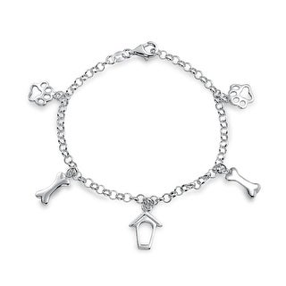 Sterling Silver Charm Bracelets Online At Our Best Charms Pins Deals
