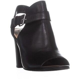Tahari Martin Dress Peep Toe Bootie Sandals, Black - 9 us