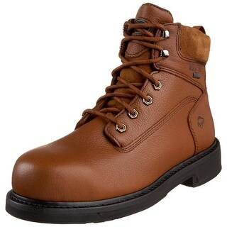 Wolverine Mens Durashocks Leather Composite Toe Work Boots - 7 extra wide (e+)