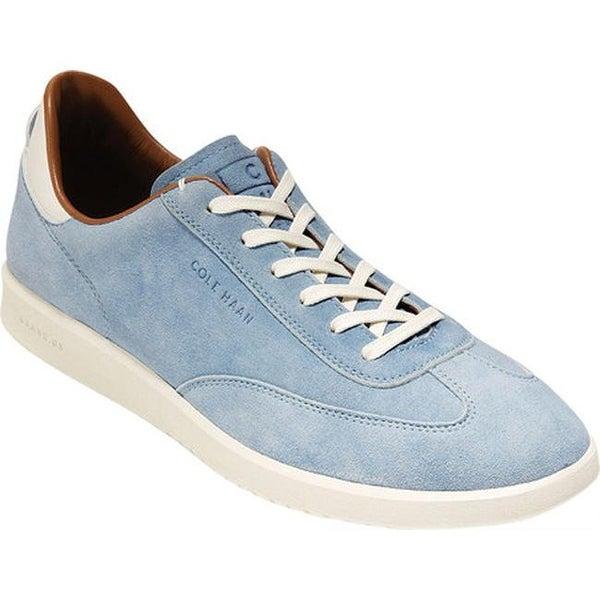 9fe480d428 Shop Cole Haan Men's Grandpro Turf Sneaker Dusty Zen Blue Suede - On ...