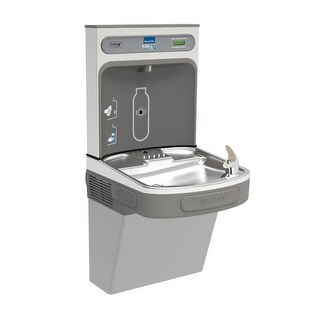 Elkay EZSDWSLK EZH2O Wall Mount Drinking Fountain and Bottle Filling Station