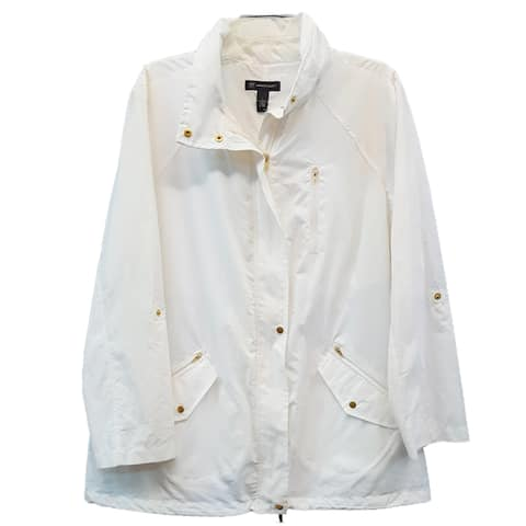 INC Women's 5D039WW899, Washed White, Large