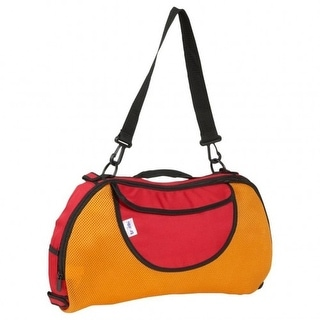 Melissa and Doug Trunki 2-in-1 Childrens Tote Bag, Orange, 9.5x16.5 Inches