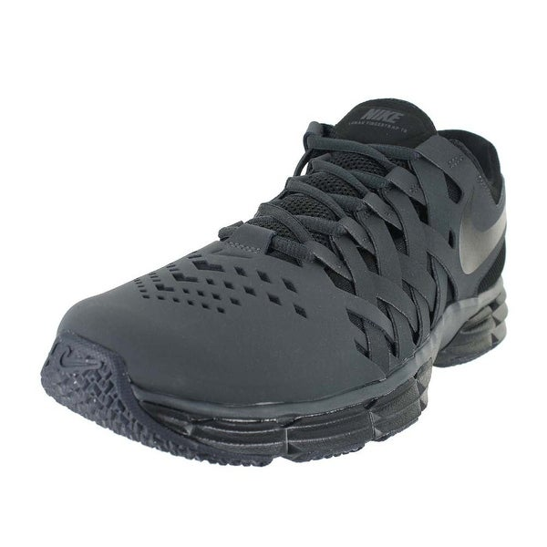 e4630edc53d1 Shop NIKE MENS NIKE LUNAR FINGERTRAP TR ANTHRACITE BLACK