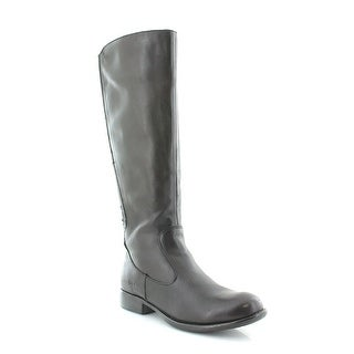 Born Womens Mylan Leather Almond Toe Knee High Fashion Boots