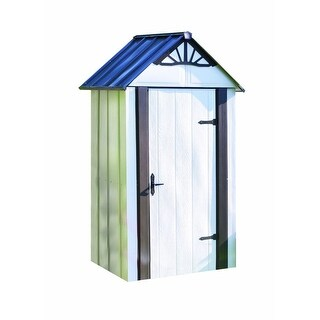 Arrow Designer Metro Shed 4' W x 2' L Steel Shed / DSM42