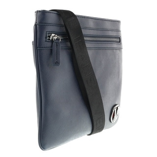 Versace EE1YOBB44 E240 Navy Blue Mens  Messenger Bag - Navy Blue