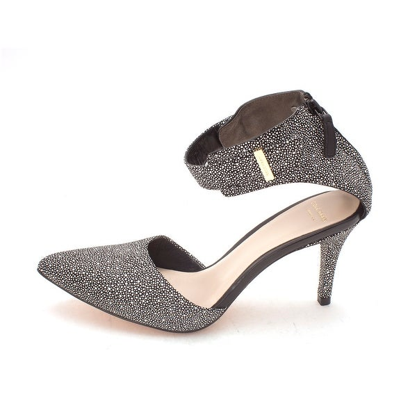 Cole Haan Womens Zerlinesam Pointed Toe Ankle Strap D-orsay Pumps - 6