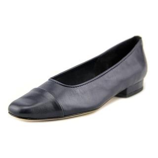 Vaneli Frankie SS Cap Toe Leather Flats