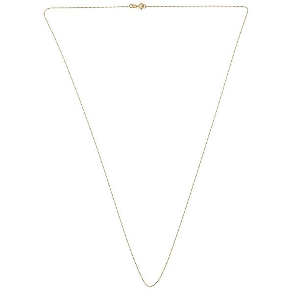 Kooljewelry Chain Necklace Yellow Gold Fashion