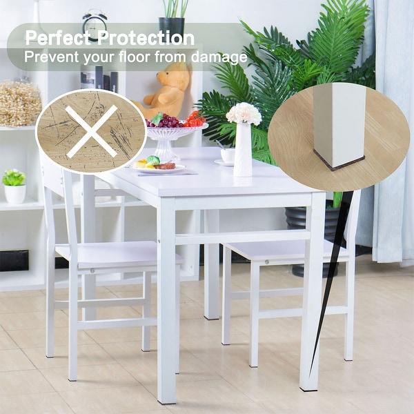 20x Rubber Desk Table Chair Furniture Feet Leg Pad Floor Protector