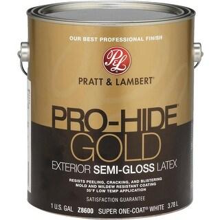 Pratt & Lambert Ext S/G White Paint
