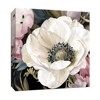 "PTM Images 9-147380  PTM Canvas Collection 12"" x 12"" - ""Anemone Study II"" Giclee Flowers Art Print on Canvas"