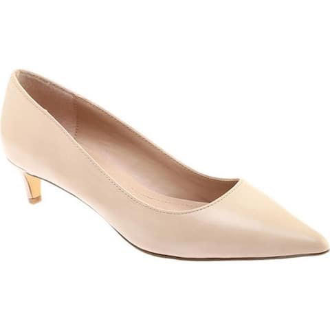b575b2e2b2b1 Charles by Charles David Women s Kitten Pump Nude Leather