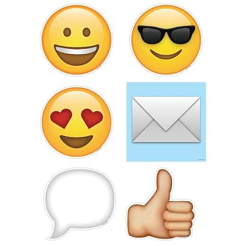 Emojis 6 In Designer Cut Outs