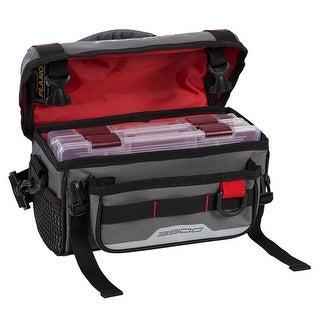 Plano weekend series gray 3500 softsider tackle bag plab35120