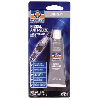Permatex 77134 Nickel Anti Seize Lubricant, 0.5 Oz Tube