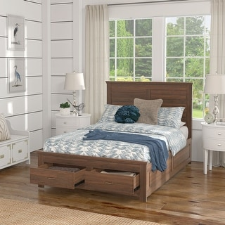 Link to Tatum Wood Panel Platform Bed with Storage by iNSPIRE Q Classic Similar Items in Bedroom Furniture