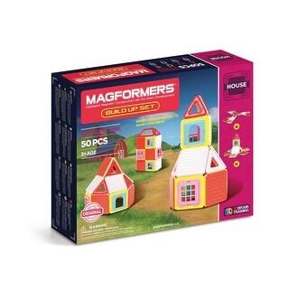 Magformers Build Up 50-Piece Building Set