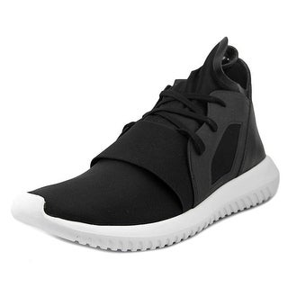 Adidas Tubular Defiant Women Round Toe Synthetic Black Sneakers