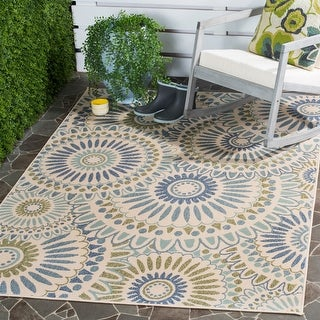 Link to Safavieh Veranda Sissy Indoor/ Outdoor Rug Similar Items in Farmhouse Rugs