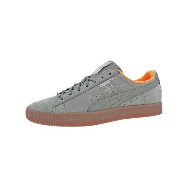 Puma Mens Clyde Winter Fashion Sneakers Fashion Low Top - 11 medium ... dd638ec25