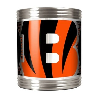 Great American Products Cincinnati Bengals Can Holder Stainless Steel Can Holder