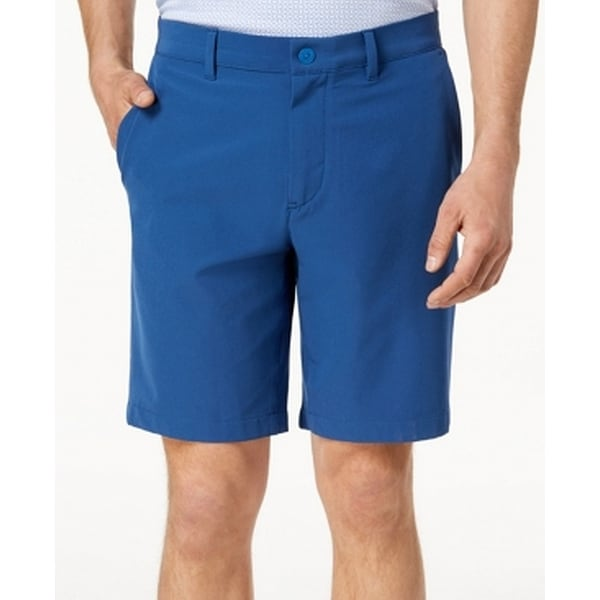 df3d5a58d4 Shop Michael Kors Blue Mens Size 38 Classic Fit Chino Stretch Shorts - Free  Shipping Today - Overstock - 27786944