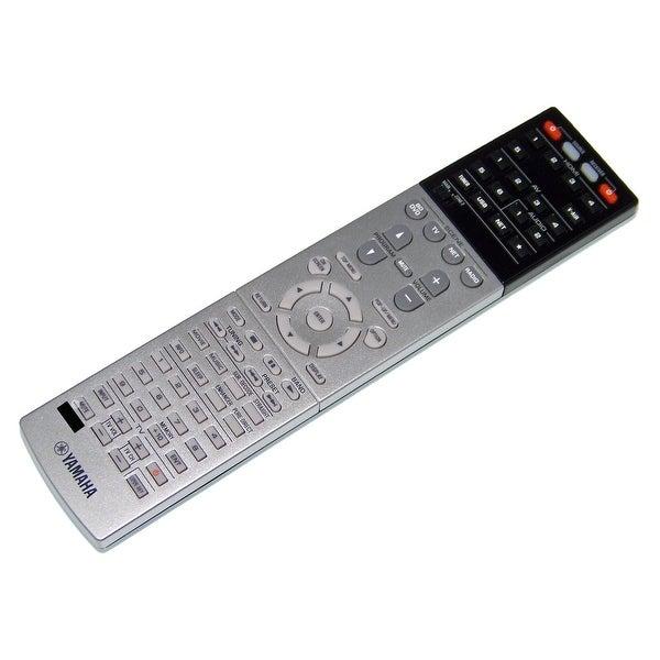 OEM Yamaha Remote Control Originally Shipped With: HTR6066, HTR-6066, RXA730, RX-A730, RXV675, RX-V675